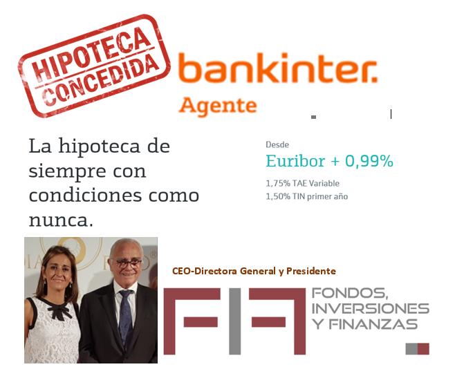 LOS ALMASQUÉ Y BANKINTER SIEMPRE A SU LADO: mejoran las condiciones para los amigos clientes
