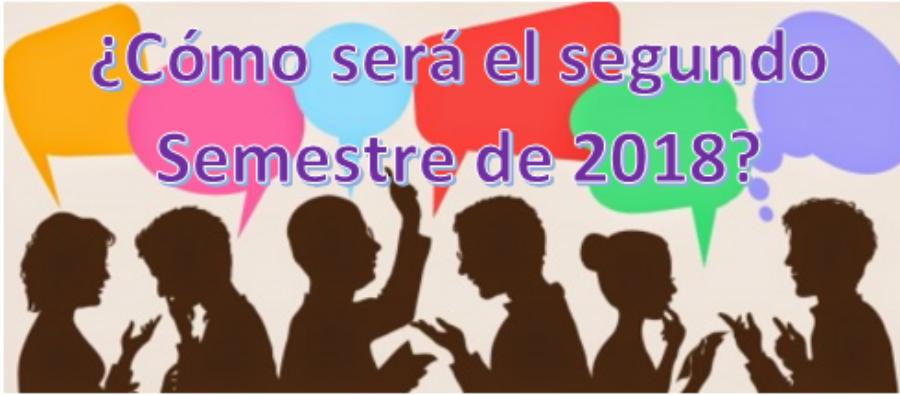 LOS RESULTADOS DESPEJAN LAS DUDAS DEL 2º SEMESTRE 2018