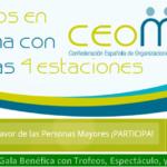 TODOS EN FORMA CON CEOMA LAS CUATRO ESTACIONES 28-29-30 septiembre /// 5 octubre 2018