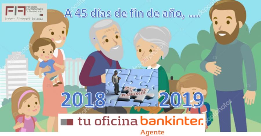 A 45 DÍAS DEL FIN DE EJERCICIO Y NUEVO AÑO 2019