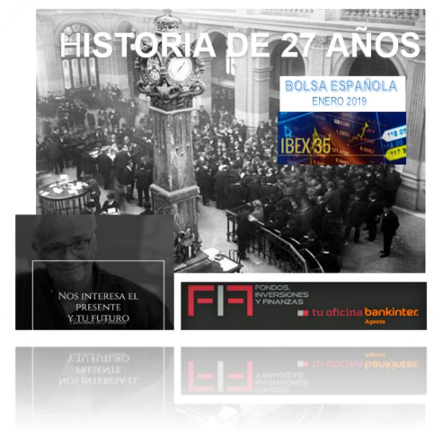 IBEX 35: datos de sus 27 años de historia