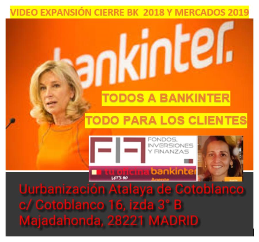 2019 y BANKINTER