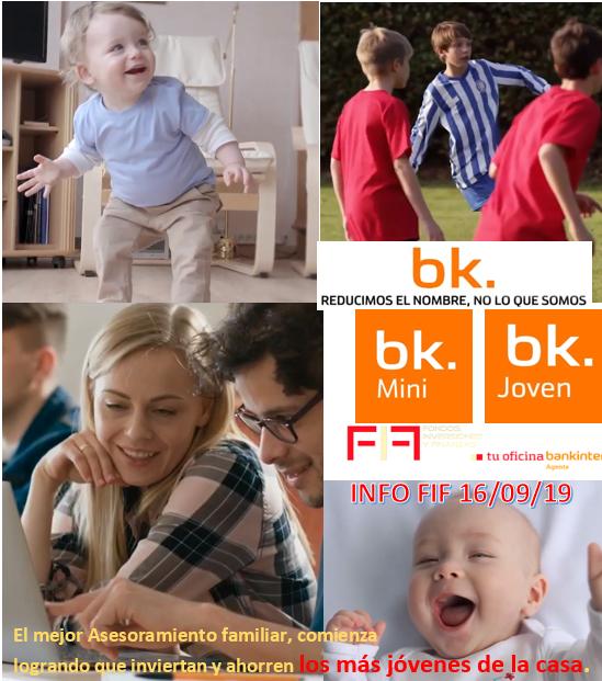 INFO FIF: bk-Mini y bk-Joven, reducimos el nombre, no lo que somos