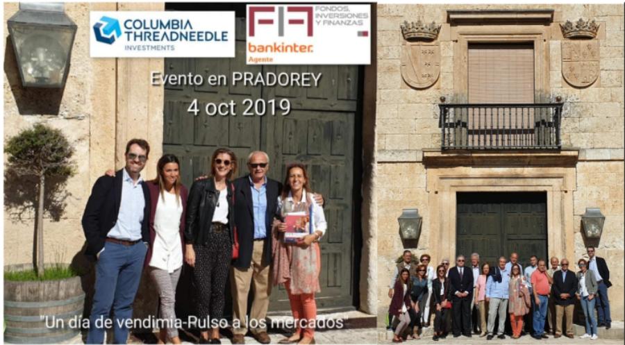 EVENTO FIF 4 OCT 2019: «Un día de Vendimia con clientes en PRADOREY-Pulso a los Mercados» CONCLUSIONES