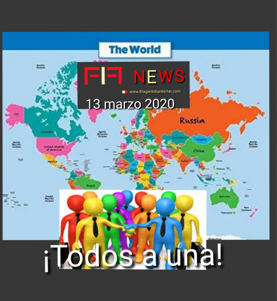 """FIF NEWS 13 marzo 2020:               """"Todos a una"""""""