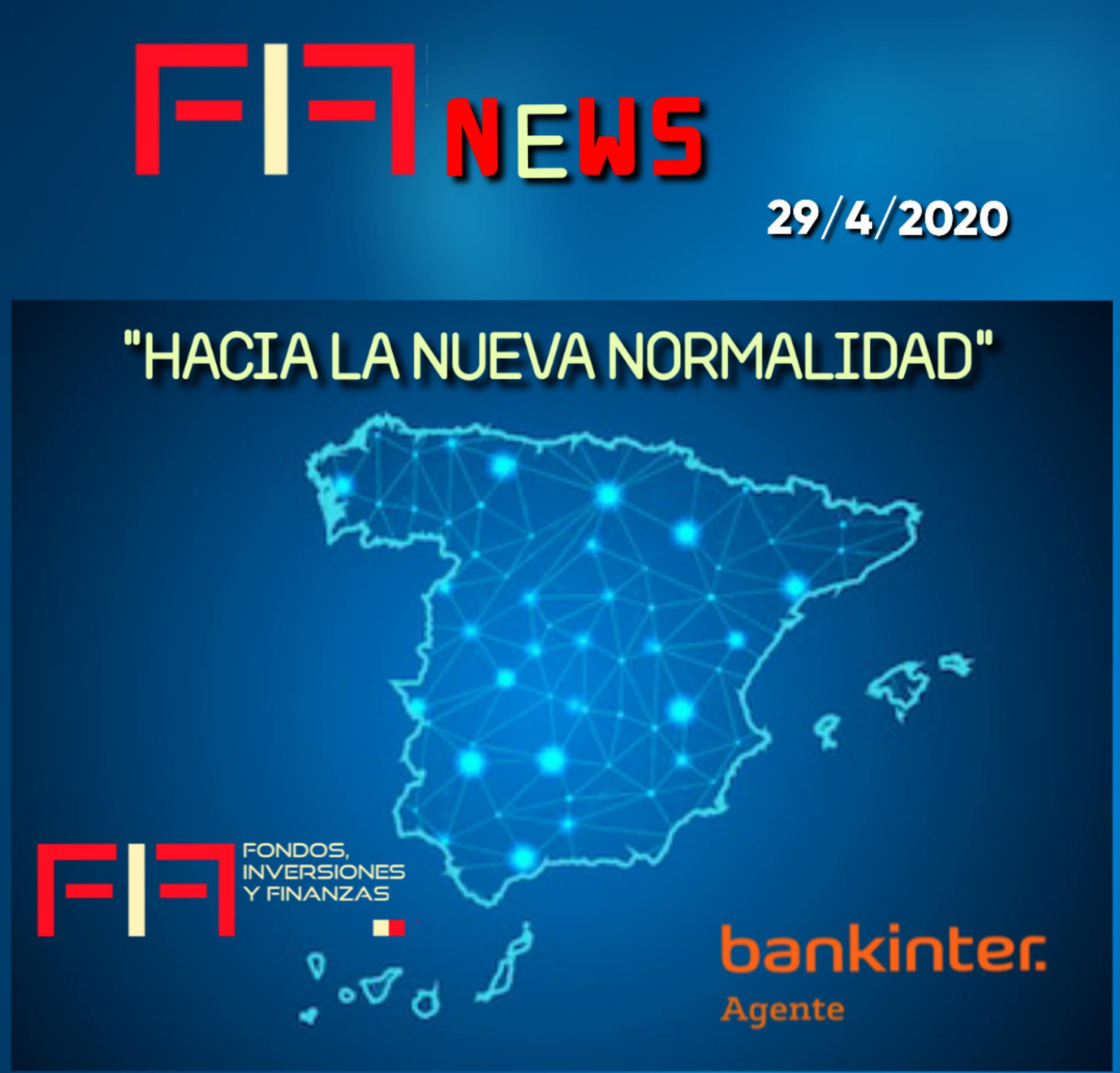 """FIF NEWS 29 abril 2020:                  """"Hacia la nueva normalidad"""""""