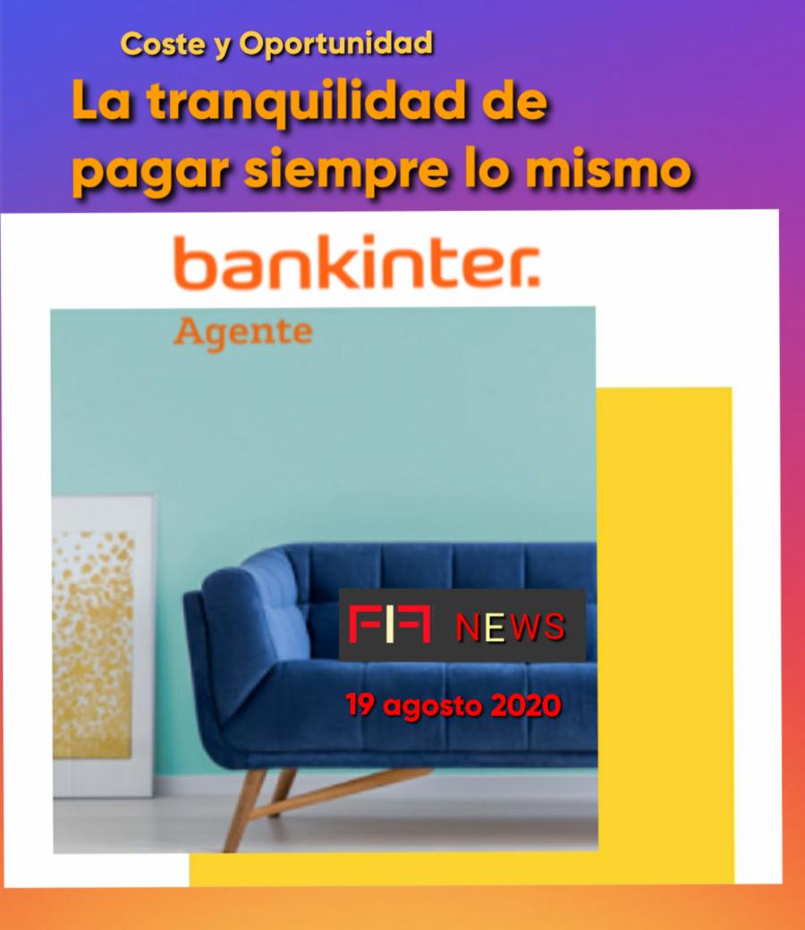 """FIF NEWS 19 agosto 2020: """"La tranquilidad de pagar siempre lo mismo"""""""