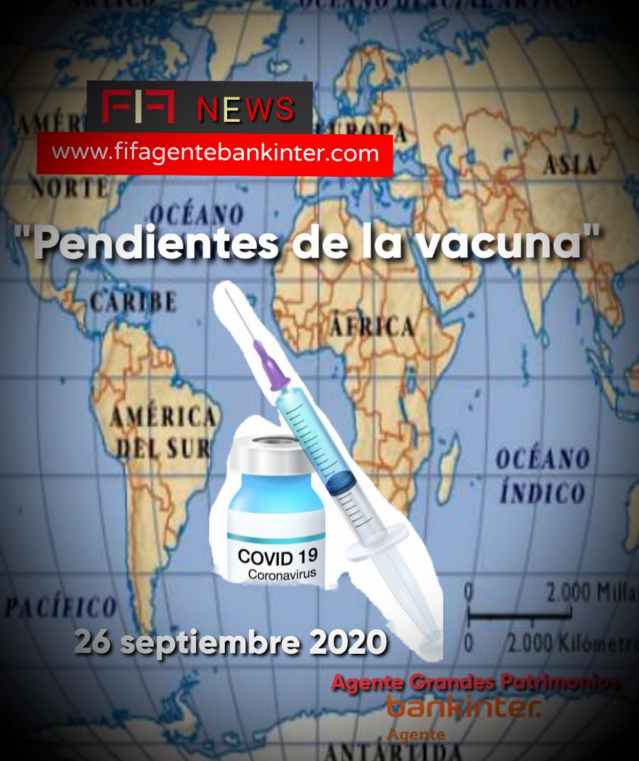 """FIF NEWS 28 SEP 2020: """"Pendientes de la vacuna"""""""