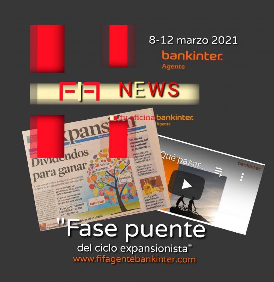 """FIFNEWS 8 marzo 2021: """"Fase puente"""""""